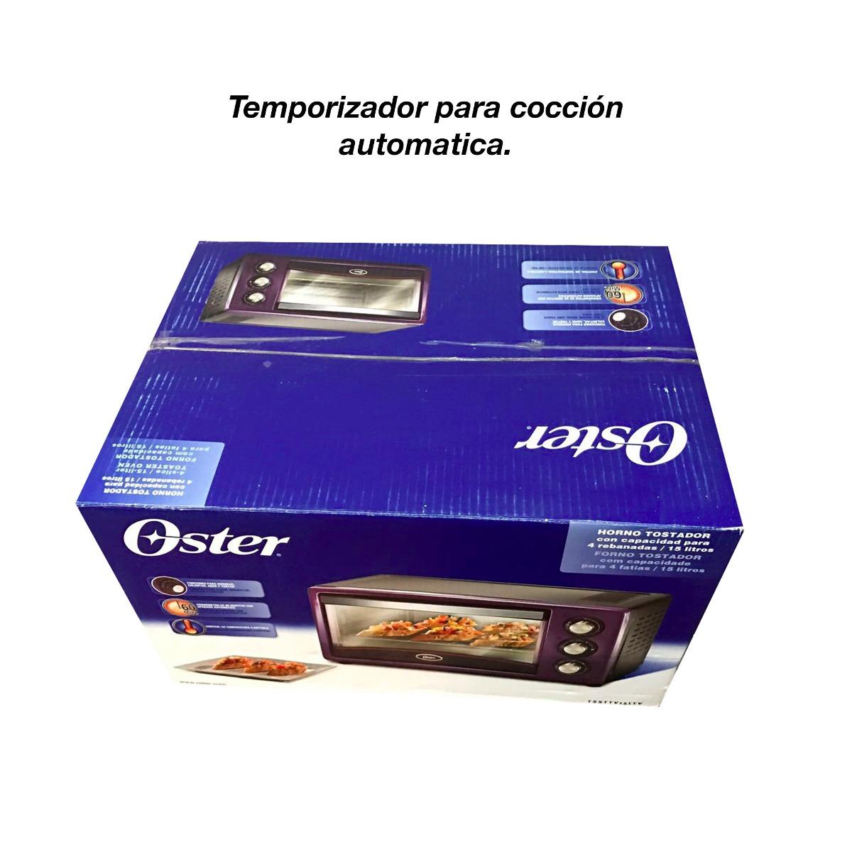 Oferta horno oster morado dora y gratina para 15 litros for Oferta encimera y horno
