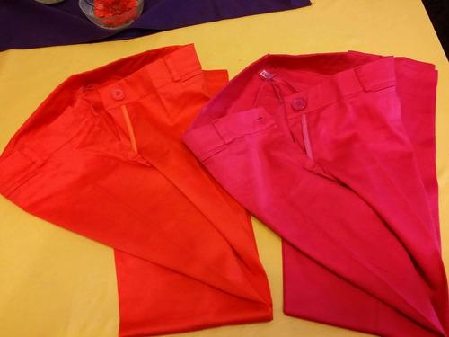 oferta imperdible! 2 pantalones de gabardina nuevos!