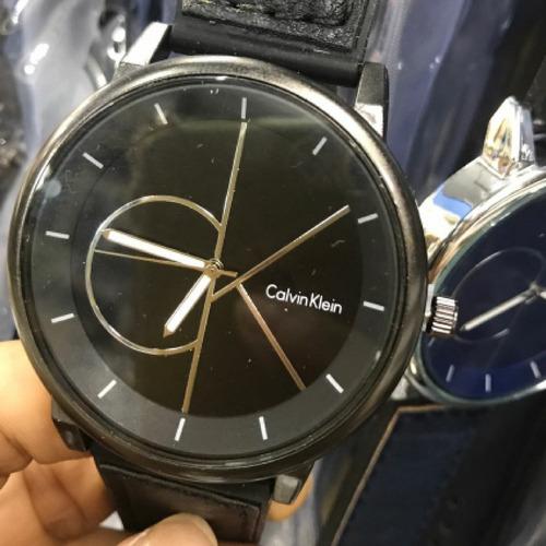 oferta imperdivel relogio pulseira de couro calvin klein
