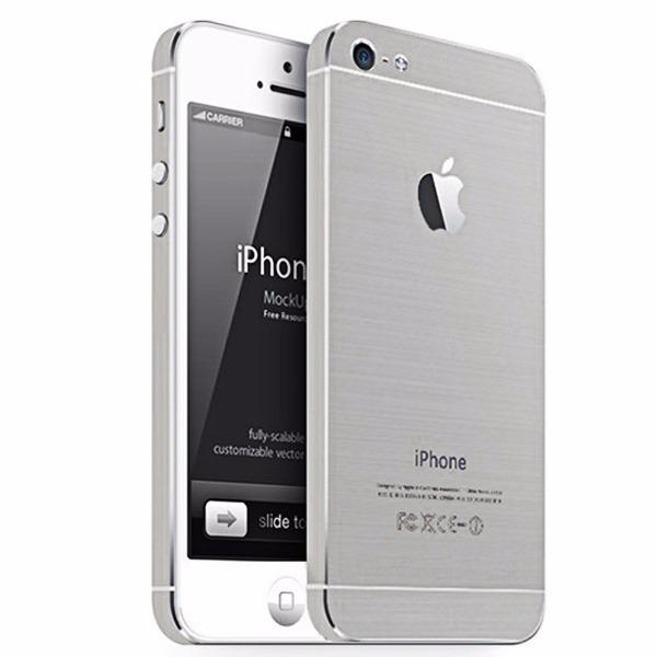 5c6795001e1 Oferta! iPhone 5s Plata 16g Seminuevo Fundas Varias - $ 3,099.00 en ...