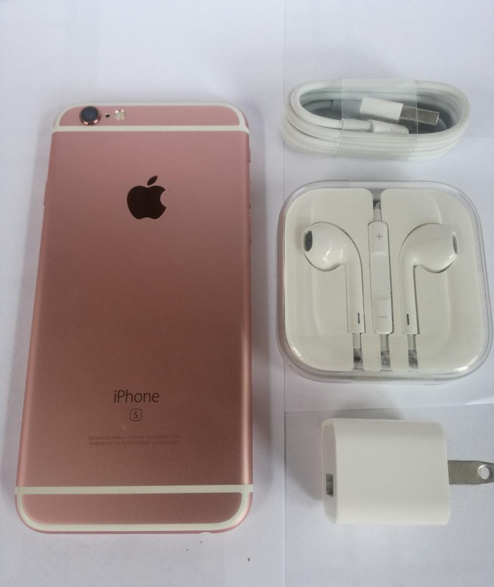 Oferta Iphone 6s 64gb Libre Rosado Rose Gold Regalos - S