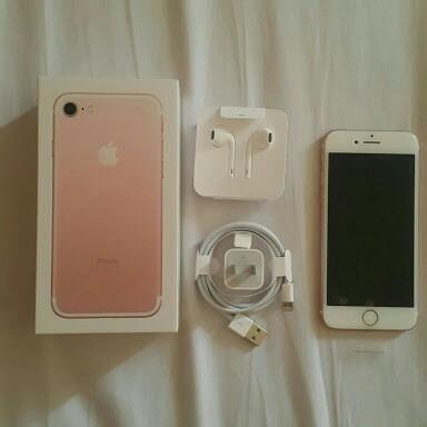 oferta iphone 7 de 32gb rosa rosado pink rose semi nuevo lib