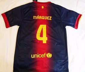 the latest a2821 16e44 Oferta Jersey Barcelona Rafa Marquez Autografiado