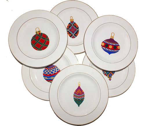 oferta jogo cozinha festa gibson 8 peça natalina natal b4128
