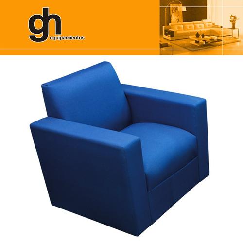oferta !! juego living, sillones minimalistas, sofa recto gh