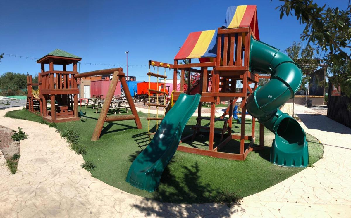 Oferta Juegos Infantiles De Madera Para Jardin 30 000 00 En