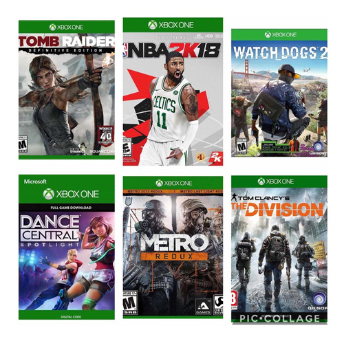 oferta' juegos xbox one completo, local... gamertag