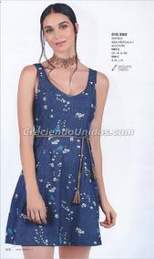 30c8f454 Vestido Mundo Terra Modelo 515 010 - Ropa, Bolsas y Calzado Azul en ...