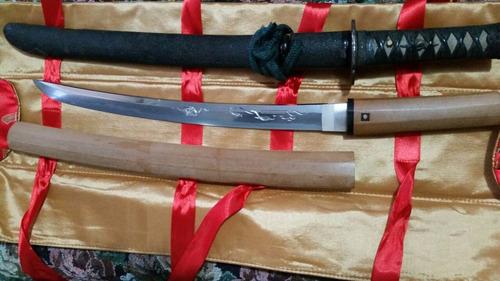 oferta katana o wakizashi  periodo muramochi con  horimono