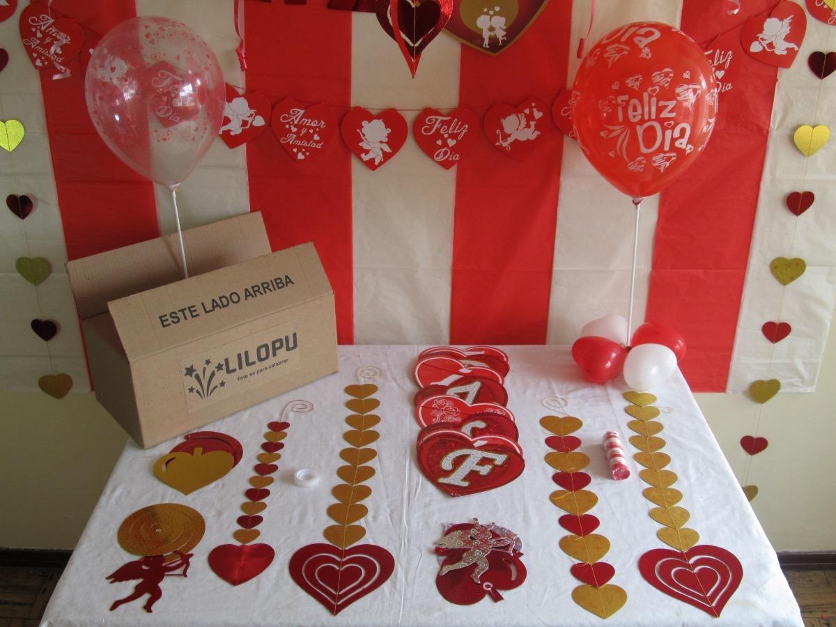 Oferta kit decorativo de amor y amistad para la oficina for Decoracion amor y amistad oficina