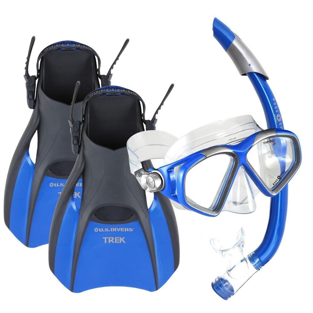 647f4d416 oferta kit set combo eco - aletas mascara snorkel - aqualung. Cargando zoom.