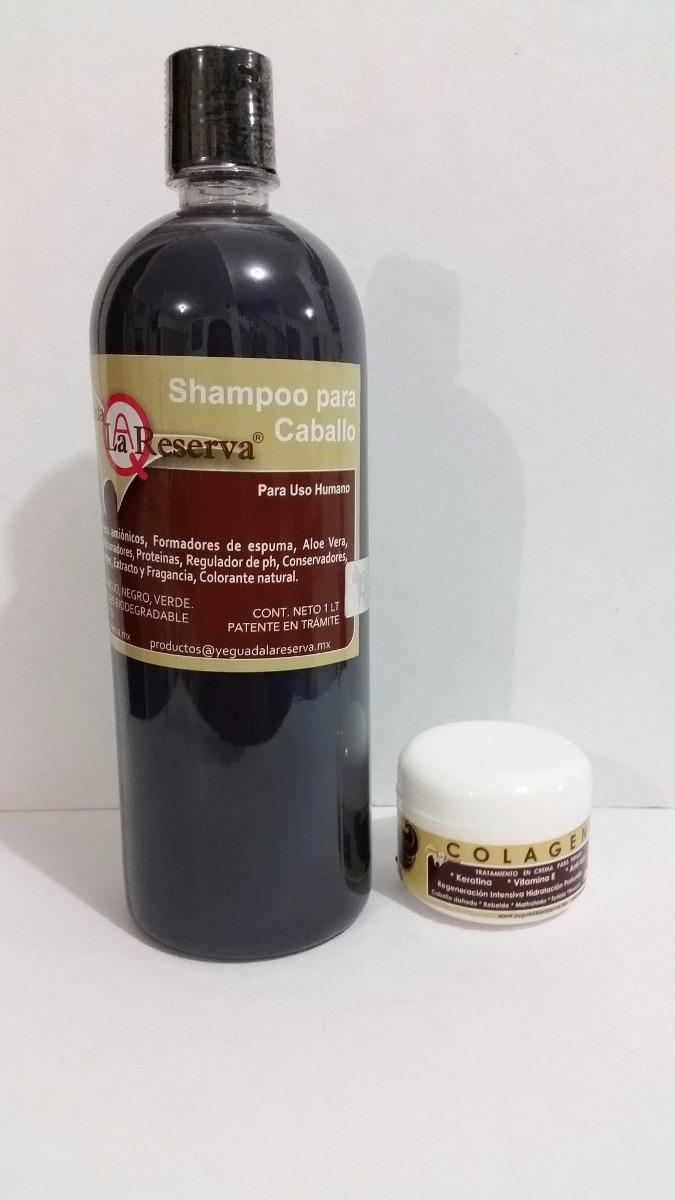 Oferta Kit Shampoo De Caballo Y Colágeno Chico Envío Gratis ...