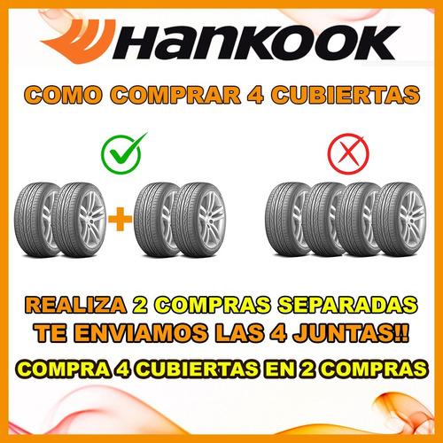 oferta kit x 2 195/60/15 hankook 424 + regalo + envio