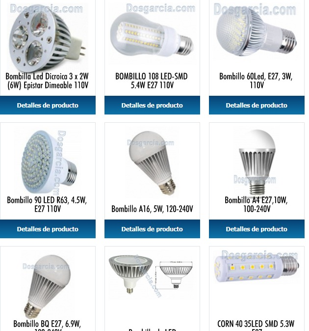 Oferta l mparas led de interior y exterior aprovecha for Lamparas led interior