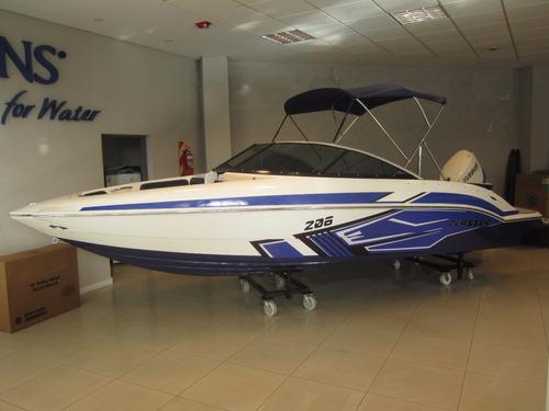 oferta lancha classer 206 / evinrude e - tec 150 hp - 2020!