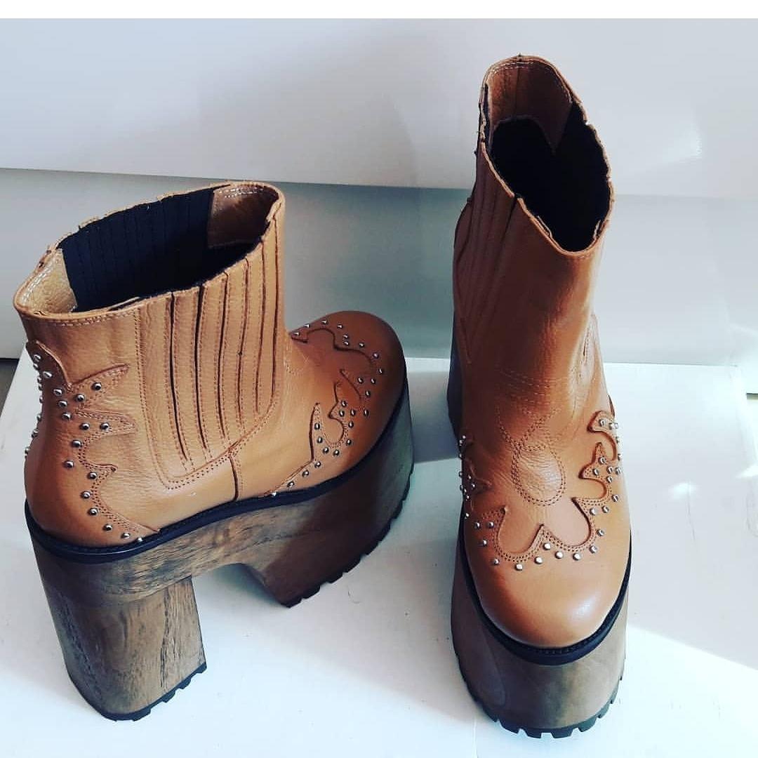 05867c60e5325 oferta las mejores botas cuero plataforma. Cargando zoom.