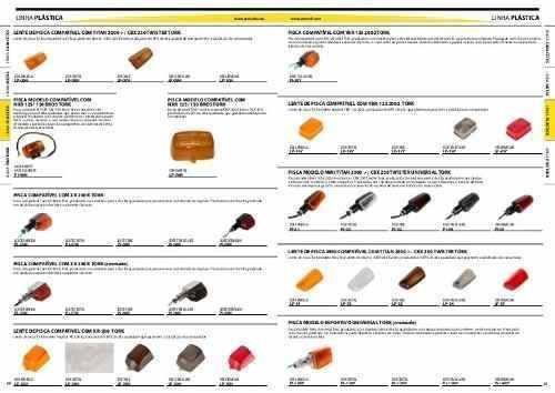 oferta lente piscaca xlr/xr/nxr amarala stlu