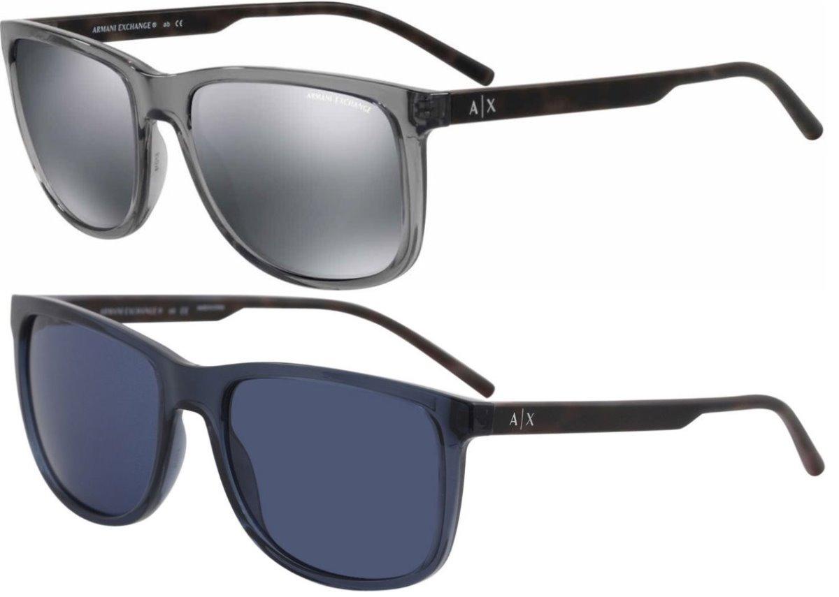 6491d61655 Oferta Lentes Armani Ax4070s Azul Y Gris Caballero - $ 3,365.00 en ...