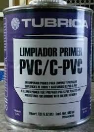 oferta!!! limpiador pvc tubrica 946ml
