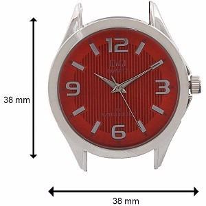 oferta lindo reloj mujer cuero rojo q&q nuevo resist agua