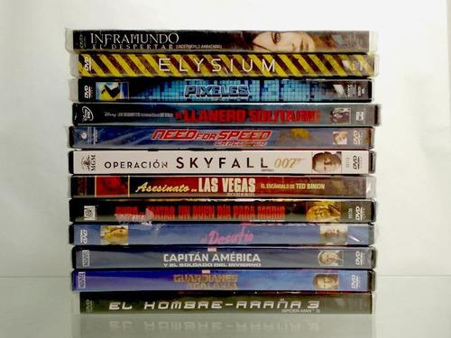 oferta liquidacion de peliculas en dvd originales nuevas