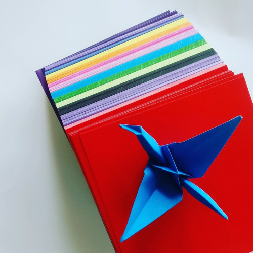 oferta! lisos de colores origami 60 hojas variadas 15x15