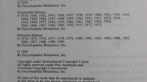 oferta! lote 5 tomos encyclopaedia britannica 1990