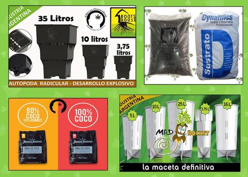 oferta macetas sopladas plastico 40 lts cultivo - olivosgrow