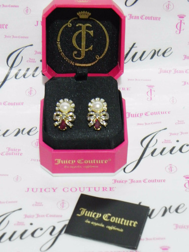 oferta mca.juicy couture hermosos  aretes para dama.