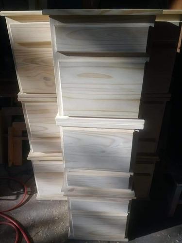oferta! mesa de luz (dormitorio) stock 6 unidades