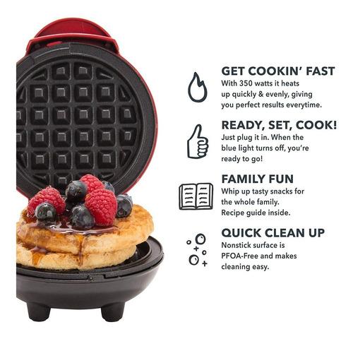 oferta! mini maquina para hacer waffles waflera mini