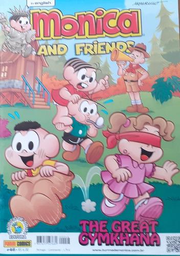 oferta mônica and friends 07 gibis em inglês