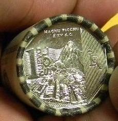 oferta monedas machu picchu colección