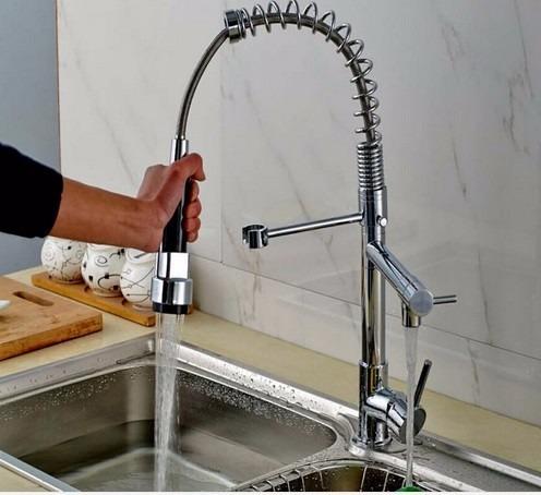 Oferta monomando llave mezcladora fregadero tarja cocina for Llaves mezcladoras para fregadero