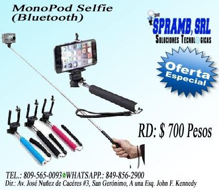 oferta, monopod selfie (bluetooth) oferta $700