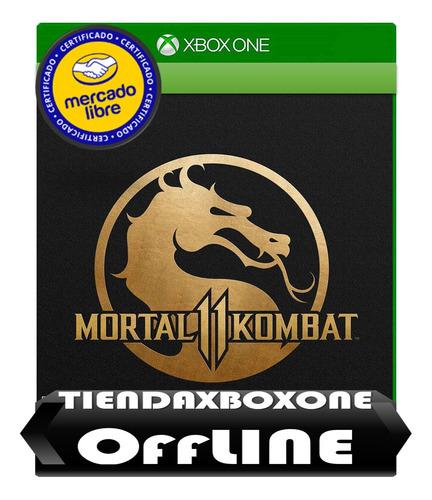 oferta mortal kombat 11 xbox one modo offline
