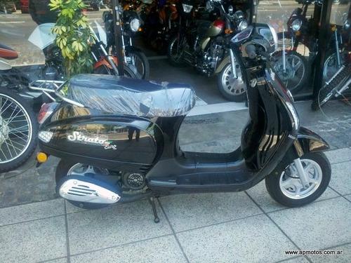 oferta motomel strato euro 150 con parabrisas 0km motos ap