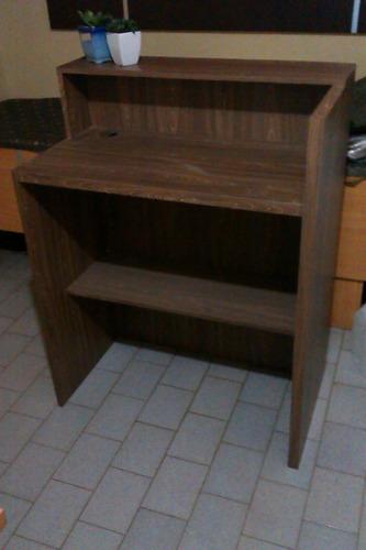 oferta mueble modular  recepcion oficina peluqueria nuevo
