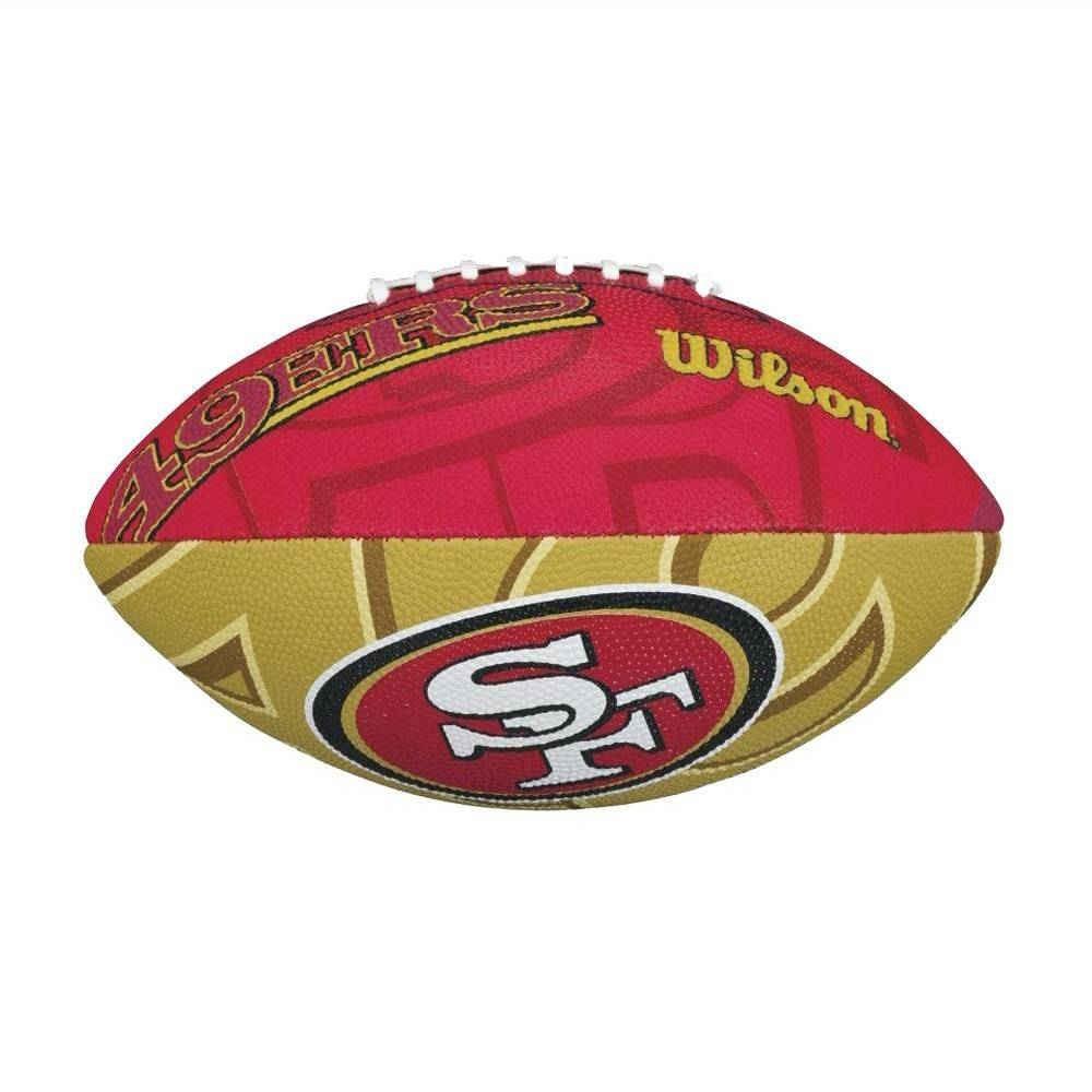 Oferta! Nfl Balón Wilson San Francisco 49ers Infantil -   200.00 en ... 834f2b1ed7f