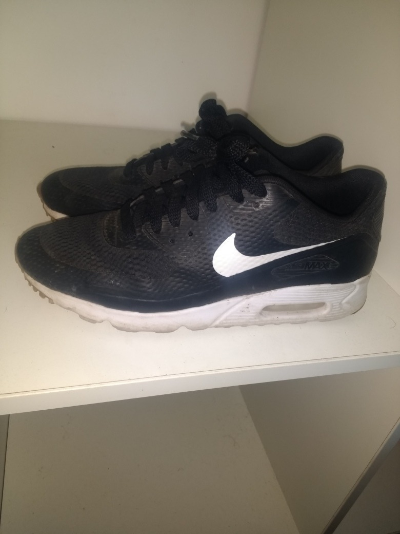 Oferta Nike Air Max Negras (eur 43) (us 9.5) -   1.700 4ffc4ec28a7e0