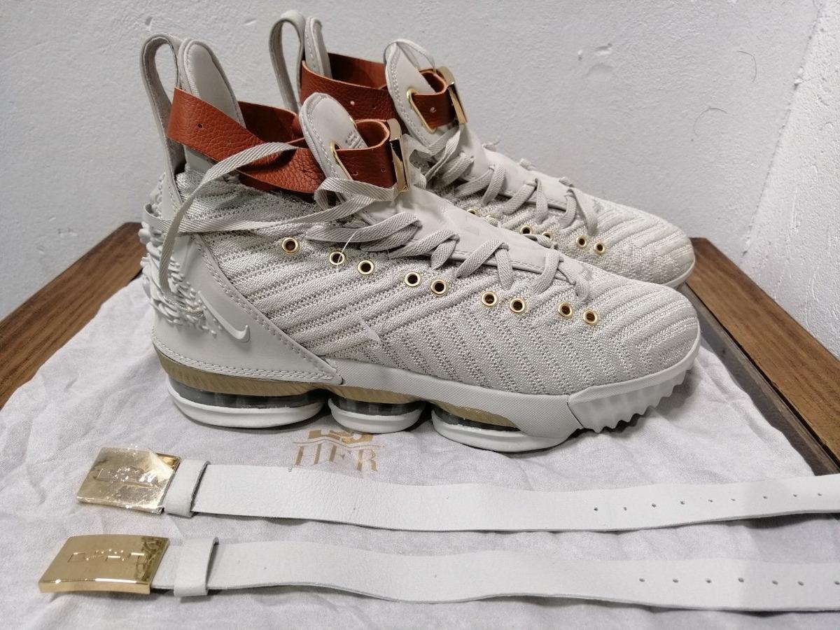 save off adf59 d998d Oferta. Nike Lebron 16 Hfr Sail White Light Bone Talla 26 Cm