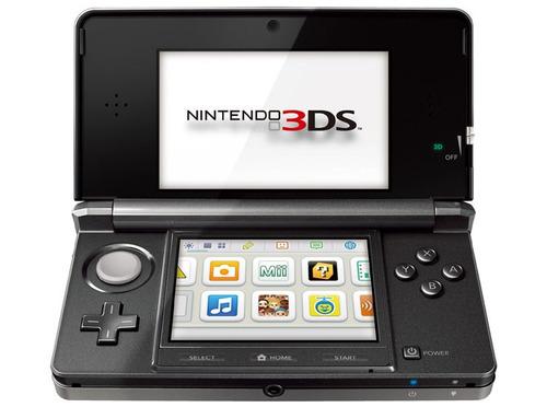 oferta - nintendo 3ds negro + juegos preinstalados a elegir.
