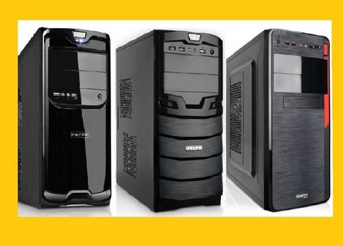oferta!! nuevos intel core i5 4gb hd-500gb garantía 12m - i7