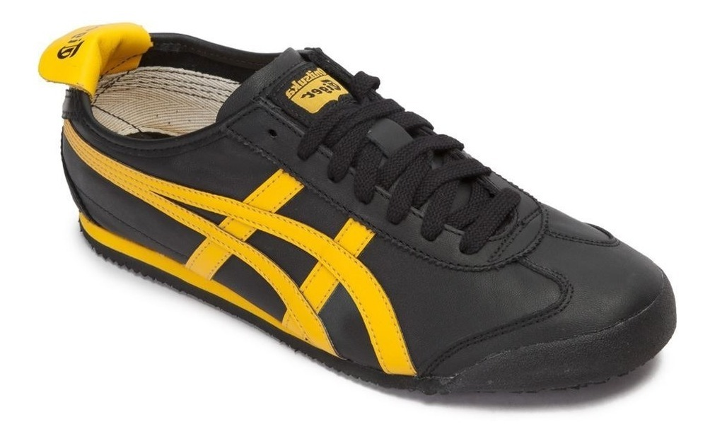 official photos 30dd7 8379a Oferta Onitsuka Tiger Edic Especial Mexico 66 Black Yellow