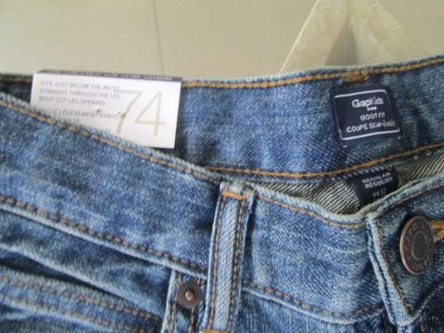 oferta original blue jeans  gap kids (niño) talla 12