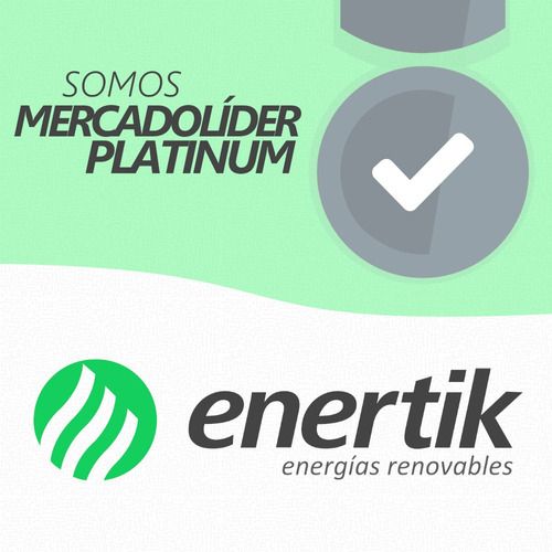 oferta pack x 2 panel solar 10w policristalino - enertik