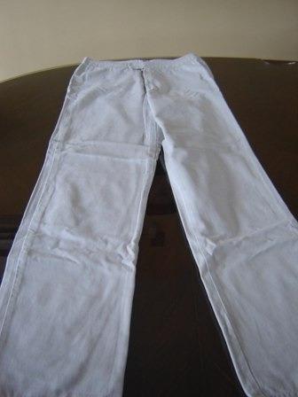 oferta! pantalon gap talle 10 color beige, divino