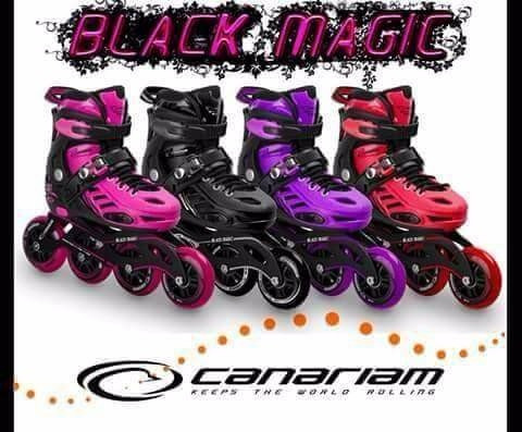 oferta patines canariam black magic semiprofesionales