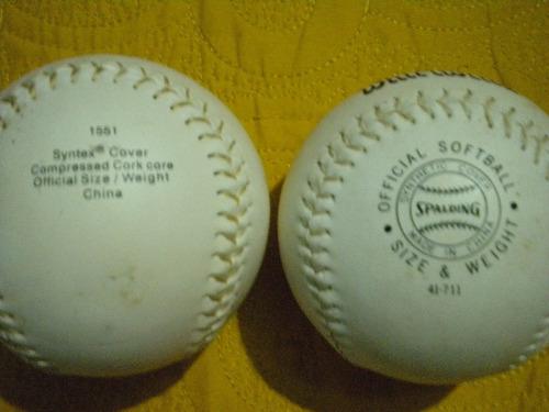 oferta pelotas de softball en oferta diferentes marcas
