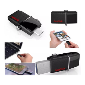 Oferta Pendrive Memory Sandisk Dual Otg 64gb Usb 3.0 Celular